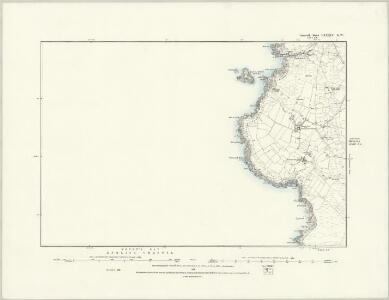 Cornwall LXXXIV.SE - OS Six-Inch Map