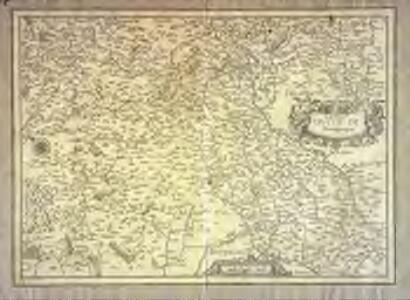 Carte dv dvché de Bourgongne