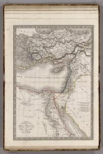 Egypte, Syrie Phoenicie et Asie Mineure.
