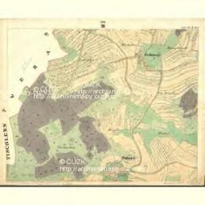 Sahorz - c9054-1-004 - Kaiserpflichtexemplar der Landkarten des stabilen Katasters