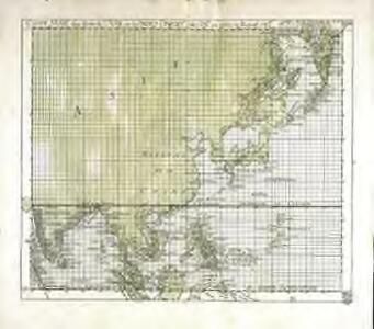 Carte mar.e d'une partie de l'Asie, ou des Indes Orient.es [et] des isl.es au dessus de l'equat.r