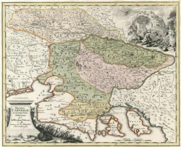 Ducatus Carnioliae accuratissima Delineatio per