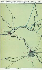 Die Eroberung von Neu-Georgiewsk. (19. August 1915.)