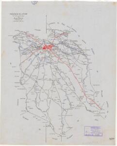 Mapa planimètric de les Borges Blanques