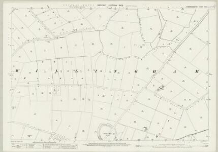 Cambridgeshire XXXIV.1 (includes: Rampton; Willingham) - 25 Inch Map