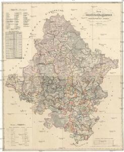 Karte von Olmützer-Kreise des Markgrafthumes Maehren
