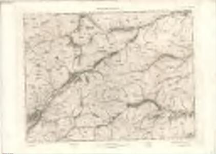 Lochcarron - OS One-Inch map