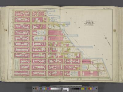 Manhattan, Double Page Plate No. 15 [Map bounded by E. 25th St., East River, E. 14th St., 2nd Ave.]