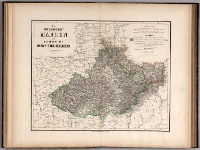 Die Markgrafschaft Mahren und das Herzogthum Ober- Nieder-Schlesien