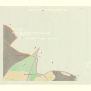 Hossin - c2235-1-003 - Kaiserpflichtexemplar der Landkarten des stabilen Katasters