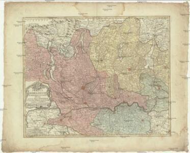 Status Mediolanensis in principales suas partes divisas, quarum aliquae Venetorum aliae ducatorum Mantuae, Parmae et Modena