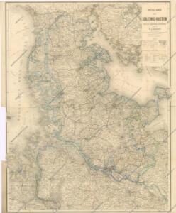 Spezial - Karte von Schleswig - Holstein...