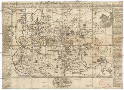 Universal-Historie auf der Land-Karten