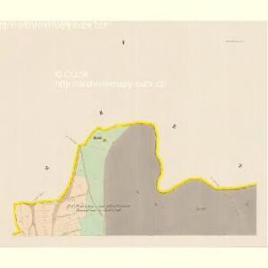 Wossek (Wosek) - c5528-1-001 - Kaiserpflichtexemplar der Landkarten des stabilen Katasters