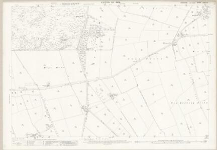 Yorkshire CCVII.13 (includes: Cliffe; North Duffield; Skipwith) - 25 Inch Map