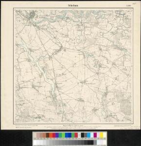 Meßtischblatt 2200 : Schrimm, 1889