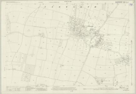 Gloucestershire III.11 (includes: Church Honeybourne; Pebworth) - 25 Inch Map