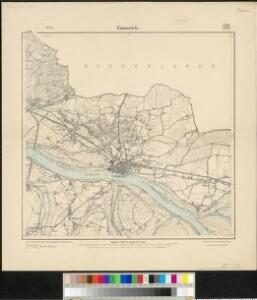 Meßtischblatt 2206/2278 : Emmerich, 1914