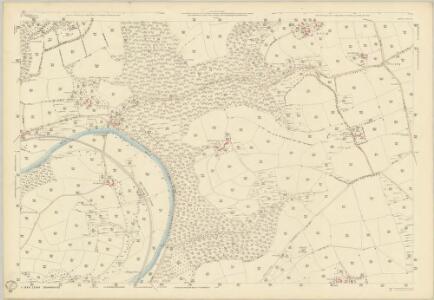 Devon XXXI.5 (includes: Burrington; Chittlehamholt; High Bickington) - 25 Inch Map