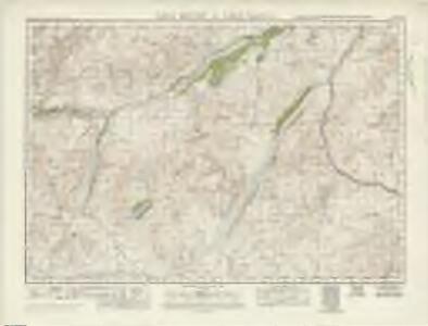 Loch Ericht  & Loch Laggan (48) - OS One-Inch map