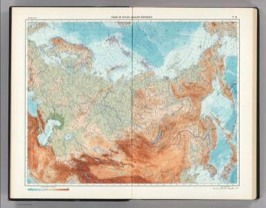 7-8.  Union of Soviet Socialist Republics.  The World Atlas.