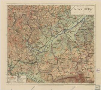 Příruční mapa okresu Nový Jičín