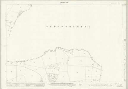 Buckinghamshire X.16 (includes: Hulcote and Salford; Wavendon) - 25 Inch Map