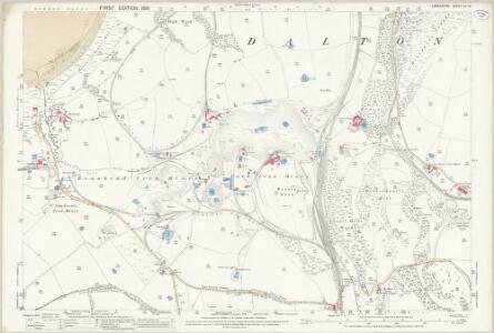 Lancashire XV.12 (includes: Barrow In Furness; Dalton In Furness) - 25 Inch Map