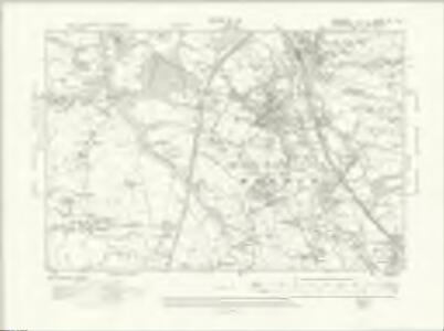 Cheshire XX.NW - OS Six-Inch Map