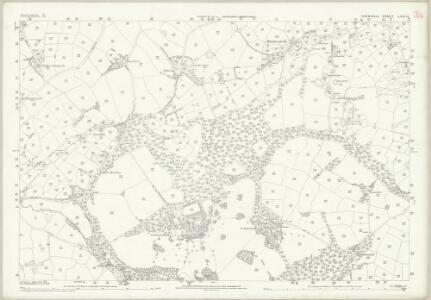 Cornwall LXIII.13 (includes: Camborne Redruth; Crowan) - 25 Inch Map