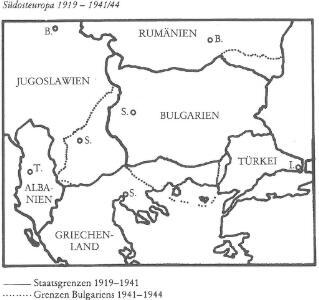Südosteuropa 1919-1941/44