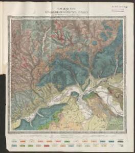[Geologische Karte der Umgebungen von Waldshut]