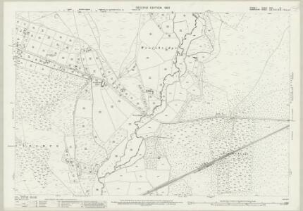 Dorset XXVI.12 (includes: St Leonards and St Ives; Verwood; West Parley) - 25 Inch Map