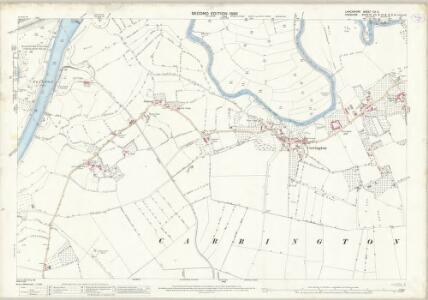 Lancashire CX.6 (includes: Carrington; Flixton; Irlam; Partington) - 25 Inch Map