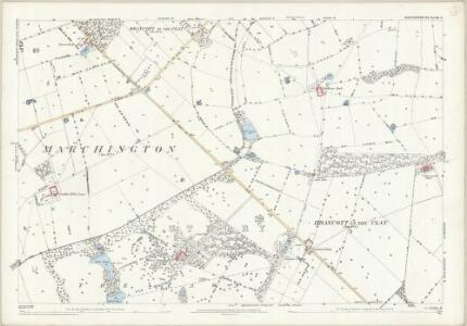 Staffordshire XL.5 (includes: Anslow; Hanbury) - 25 Inch Map