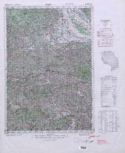 Yugoslavia 1:100,000, Rogatec