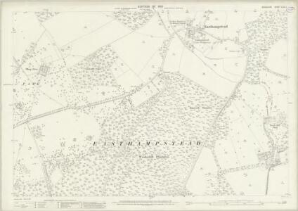 Berkshire XLVII.1 (includes: Easthampstead) - 25 Inch Map