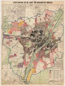 Staffelbauplan der kgl. Haupt- und Residenzstadt München