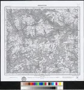 Meßtischblatt [7623] : Mehrstetten, 1912