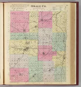 Osage Co., Kansas.