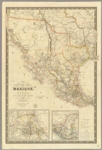 Nouvelle Carte du Mexique, Du Texas.