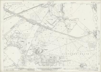 Kent IX.5 (includes: Bexley; Crayford; Dartford) - 25 Inch Map