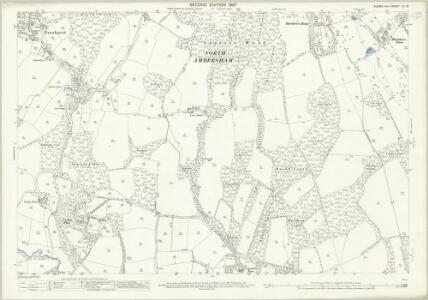 Sussex XI.13 (includes: Fernhurst; Lodsworth; North Ambersham) - 25 Inch Map