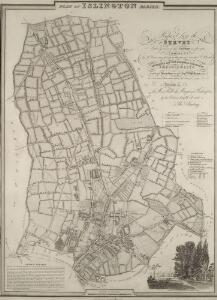 PLAN OF ISLINGTON PARISH