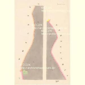Prachatitz (Prachatice) - c6076-1-006 - Kaiserpflichtexemplar der Landkarten des stabilen Katasters