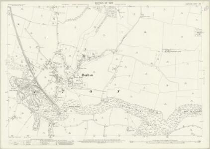 Hampshire and Isle of Wight LX.8 (includes: Buriton) - 25 Inch Map