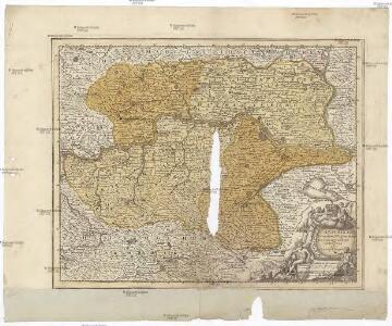 Avstria inf. secundum IIII. quadrantes cum regionibus contiguis