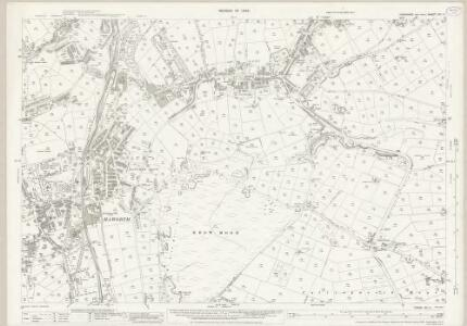 Yorkshire CC.11 (includes: Bingley; Keighley) - 25 Inch Map