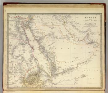 Arabia, Egypt, Nubia, Abyssinia.