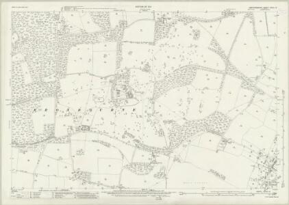 Hertfordshire XXXVI.12 (includes: Brickendon Liberty; Hoddesdon) - 25 Inch Map
